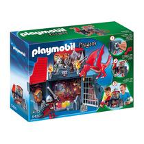 Playmobil 5420 - Calabouco Do Dragao Game Box