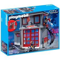 Playmobil - Estação De Bombeiros Cod:5981