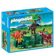 Playmobil 5415 Gorillas And Okapis With Film Maker