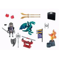 Maleta Playmobil Dragons - Cavaleiros - 5609