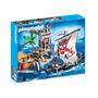 5919 Playmobil Piratas Torre De Defesa E Navio Pirata