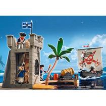 Playmobil 5919 - Torre De Defesa E Navio Pirata