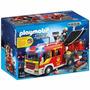 Playmobil- Caminhão De Bombeiros Com Equipamento- 5363