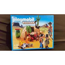 Playmobil Western - Esconderijo De Bandidos - 5250