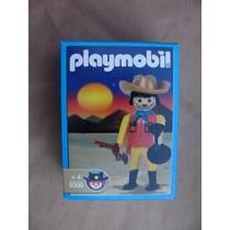 = Playmobil = Faroeste Bandido Com Saco Dinheiro 9300 Antex