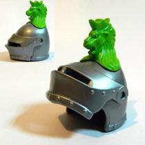 Playmobil-004 - 1 Capacete Elmo Leão Cavaleiro Medieval