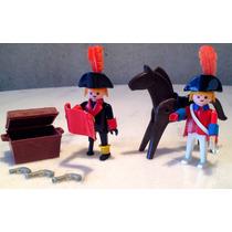 Playmobil Antigo Trol - Pirata E Cavaleiro