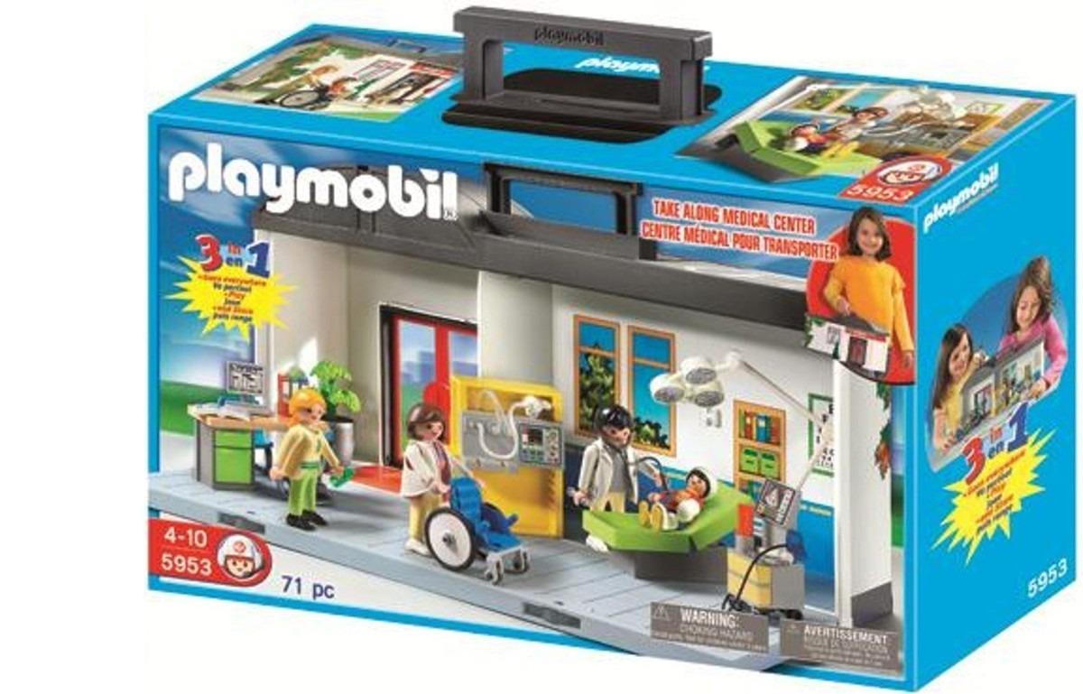 Playmobil maleta set hospital 5953 r 250 00 no for Hospital de playmobil