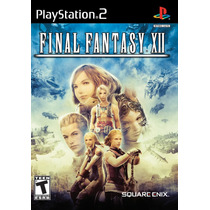 Patch Final_fantasy_12 - Ps2 E Pc