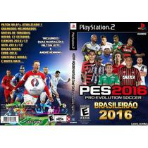 Pes Super Team Brasileirao Serie A & B 2016 Ps2 Frete Gratis