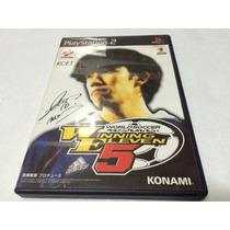 Winning Eleven 5 Original Japones P/ Playstation 2