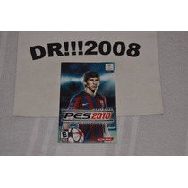 Manual Pes 2010 Original P/ Playstation 2!!!