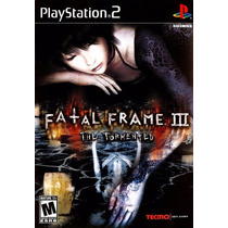 Patch Fatal Frame 3 The Tormented Ps2