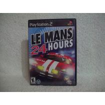 Jogo Original Playstation 2 Le Mans 24 Hours