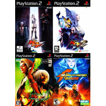 Kof The King Of Fighters Ps2 (kit 4 Jogos Play Station 2 Kof