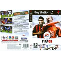 Fifa 2009 - Ps2 - Frete Grátis