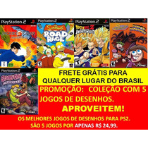Jackie Chan+ Os Simpsons+ Dragon Ball Ps2 Playstation 2