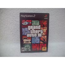Jogo Playstation 2- Gta 3