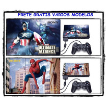 Adesivo Ps2 Skin Playstation Pelicula Adesiva Frete Gratis