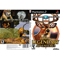 Cabelos Legendary Adventures - Ps2 - Frete Grátis