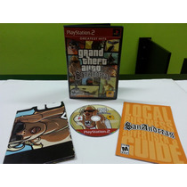 Gta San Andreas Ps2 Completo Sem Riscos Com Manual E Mapa