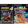Digimon World 4 + Data Squad Playstation 2 (kit 2 Jogos Ps2
