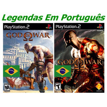 Patches God Of War 1 E 2 Legendas Em Português Play 2 Mod