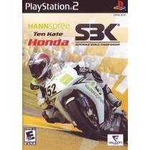Jogo Playstation 2 Ps2 Sbk Honda Ten Kate Original - Clique+