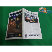 Playstation 2, Ps2 - Manual Gta 3