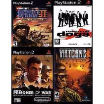 Prisoner Of War Ps2 (kit 4 Jogos Playstation 2 Guerra