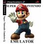 Patche Super Nintendo Coleção Mario Bros Emulador Ps2 (mod)