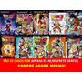 Dragon Ball Z Budokai Tenkaichi 1, 2 E 3 (kit 10 Jogos Ps2