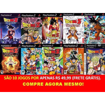 Dragon Ball Z Sagas, Af, Super Play 2 (kit 10 Jogos Ps2