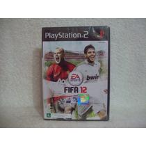 Jogo Playstation 2- Fifa 12- Lacrado De Fábrica
