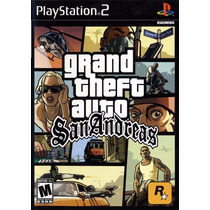 Gta San Andreas Black Label - Ps2