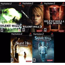 Silent Hill 2, 3, 4 Origins Ps2 (kit 5 Jogos) Play Station 2