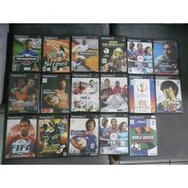 Jogos De Futebol Ps2 Originais Fifa, Pes, Winning Eleven