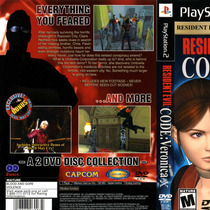 Resident Evil Code Veronica X Ps2 - Frete Grátis