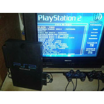 Playstation 2 Desbloqueado + Hd 80gb + Modem + 2 Controles