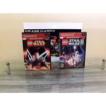 Lego Star Wars 1 E 2 Originais Ps2