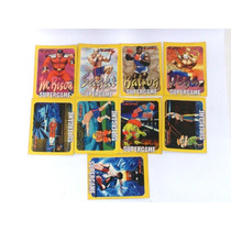 9 Cards Revista Game Power - Raro Anos 90 - Street Fighter