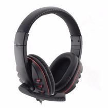 Fone Ouvido Headset Microfone Para Jogos Chat Skype Ps4 Ps3