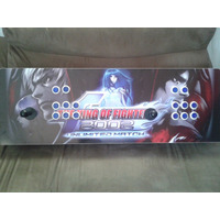 Controle Arcade Duplo 4 Em 1 (pc, Play 1, Play 2 E Play 3)