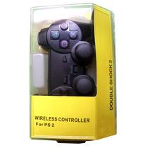 Controle Joystick Playstation 2 Ps2 Sem Fio Wireless