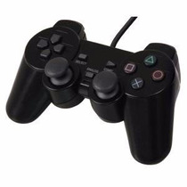 Kit 10 Controle Playstation 2 / Ps2 Dual Shock Com Fio