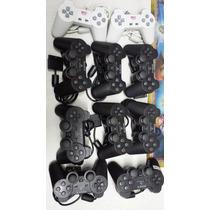 Controle Playstation 2 E 1 One Pronta Entrega Ps1 Ps2 Em Bh!
