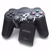 Controle Sem Fio Wireless 2.4 Ghz Playstation 1 2 Game Pad