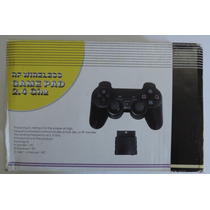 Controle Sem Fio Playstation2 Ps2 2.4ghz Dual Shock Analógic