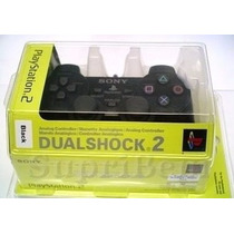 Controle Sony Ps2 Serie H Dual Shock 2 No Blister Lacrado