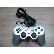 Kit 25 Controles Joystick Para Ps2 Preto Novo Play Station 2